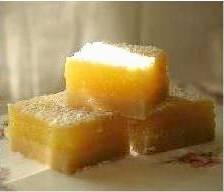 Limoncello-Lemon Bar Bites
