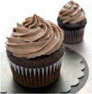 Double Chocolate Cupcakes w/ Hot Fudge Filling