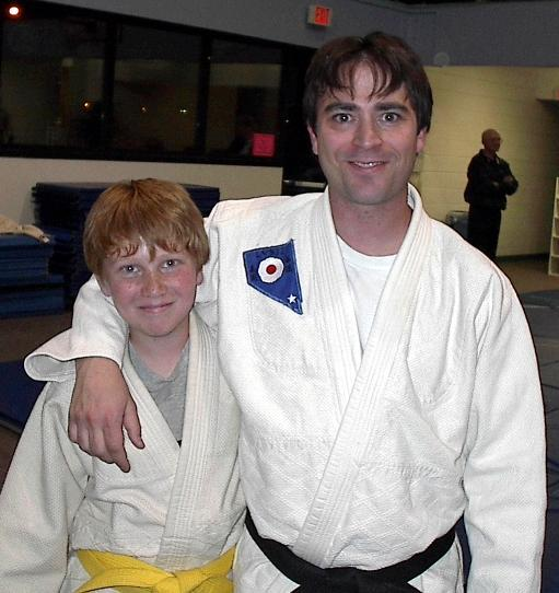 Sensei Lourenco and student