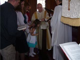 Kelsey's Baptism - Easter Day