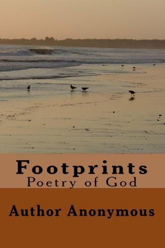 footprints poem. Footprints Poem Books
