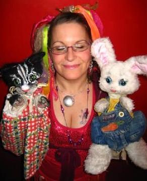 Diane holding Bobby and Tabitha