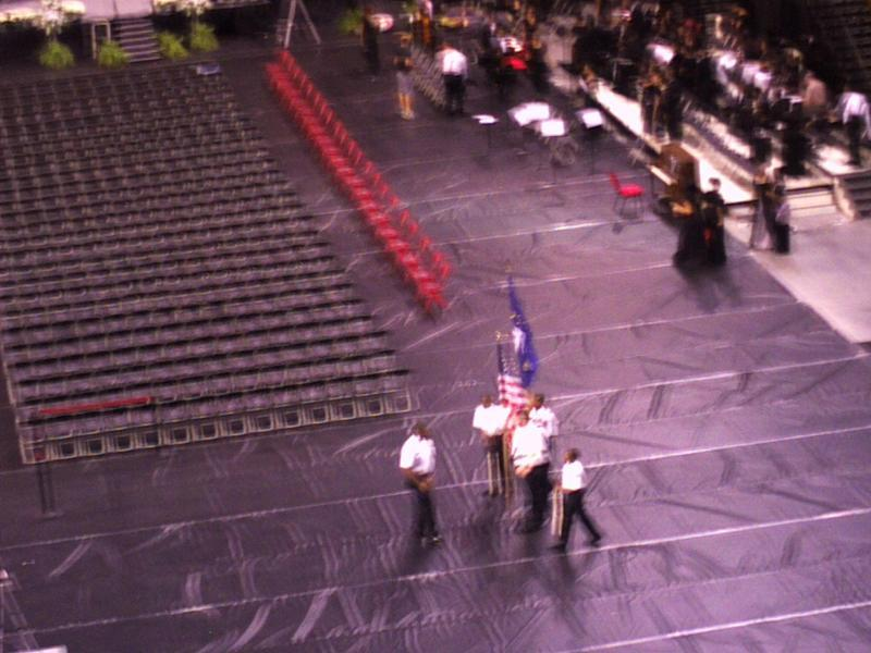 Ram Navy Color Guard, blurry Style!