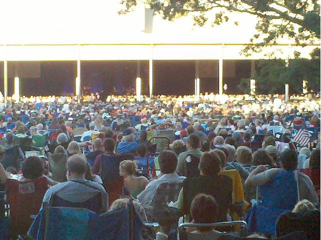 Tanglewood, Lenox MA Pop Artist Series July 2010 | James Taylor & Carole King