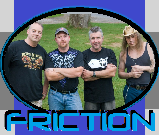 FRICTION - Berkshire County's Newest Live Party Band! At the Back Nine Aug 21st!