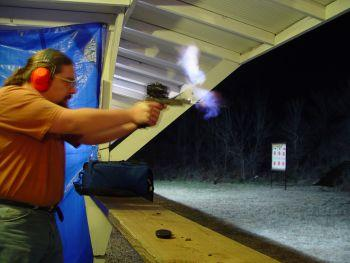 the webmaster shooting Open Pistol