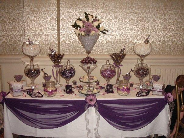candy buffet table. Candy Buffet tables for