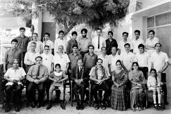 C.H.Prahlada Rao: New Delhi 1970