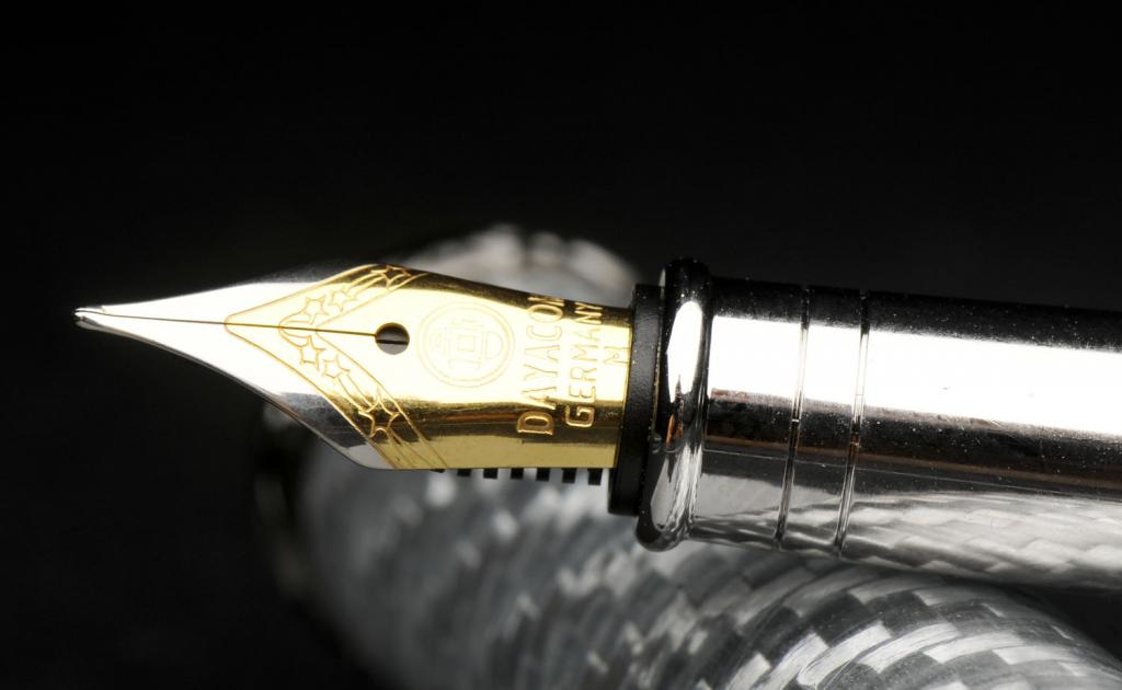 Nib on Fountain Pen