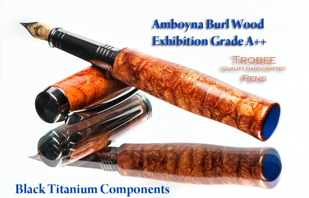 wood handcrafted quality fountain pen